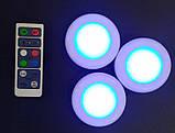 Цветной LED светильник с пультом, фото 2