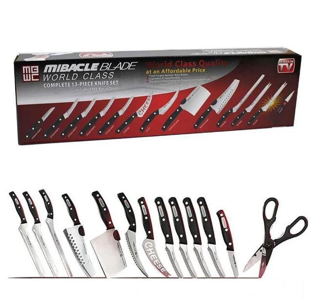 Набор ножей Miracle Blade 13in1