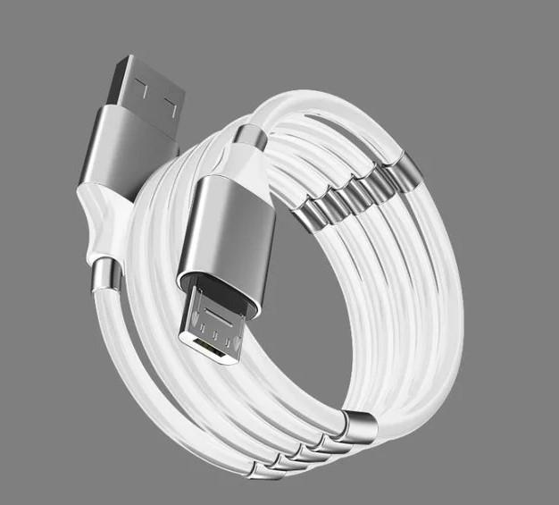 Магнитный кабель SuperCalla LIGHTNING, MICRO-USB