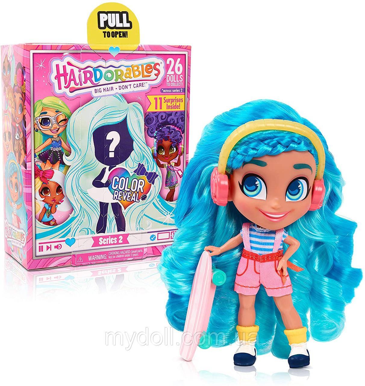 Лялька Hairdorables 2 серія Collectible Surprise Dolls Хердораблс сюрприз Оригінал