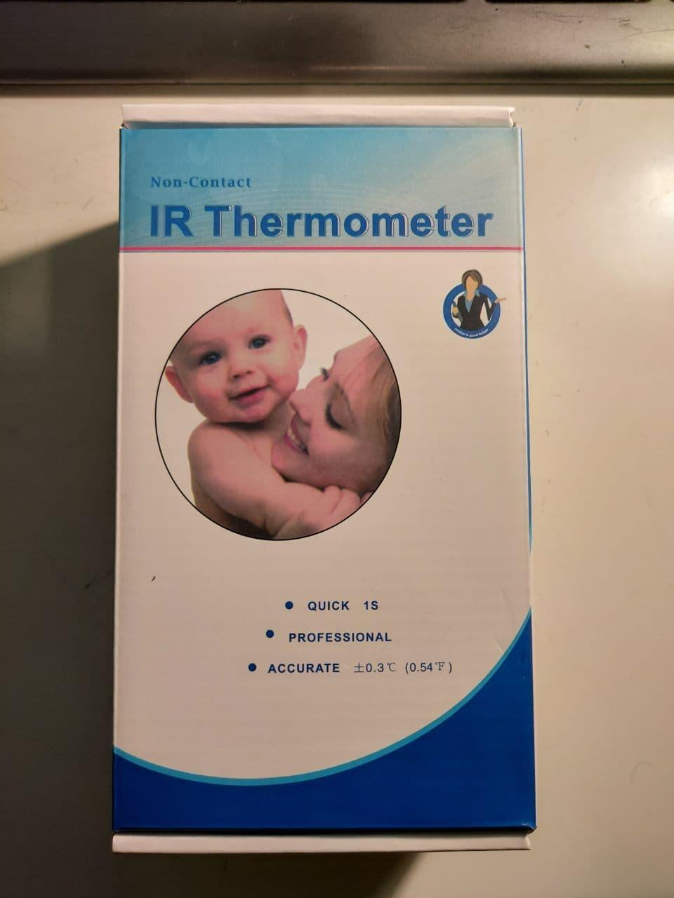 Бесконтактный инфракрасный термометр Liam DT-8806C Термометр бесконтактный инфракрасный цифровой
