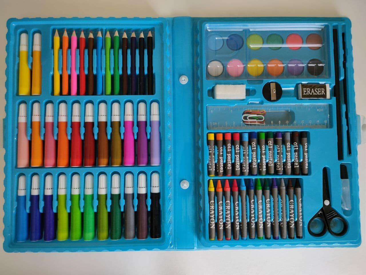 Набір для дитячої творчості 86 предметів