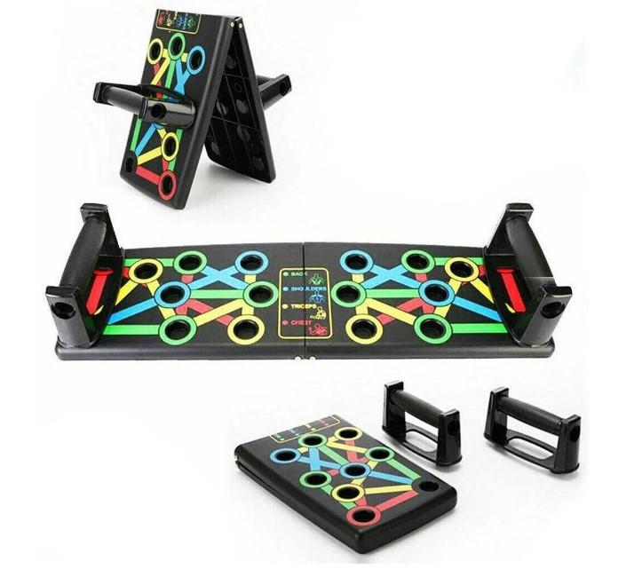 Дошка для віджимань, опори для віджимань, стійка для бодібілдингу Push Up Rack Board з упорами різним хватом