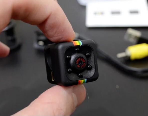 Мини-камера Mini Sports Full HD DV 1080p скрытый видеорегистратор для дома