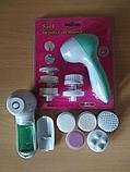 Масажер для обличчя 5 in 1 Beauty Care Massager AE-8782, Масажер+5 насадок, Вібромасажер! Хіт продажів, фото 6