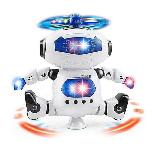 Танцюючий робот Dancing Robot 360 STURN SPIN