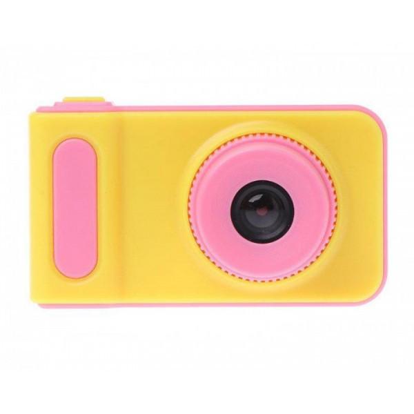 Дитячий фотоапарат Summer Kids Camera V7 S цифрова дитяча фотокамера Yellow/Pink