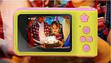 Дитячий фотоапарат Summer Kids Camera V7 S цифрова дитяча фотокамера Yellow/Pink, фото 2