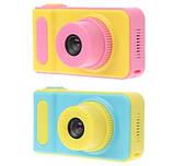 Дитячий фотоапарат Summer Kids Camera V7 S цифрова дитяча фотокамера Yellow/Pink, фото 3