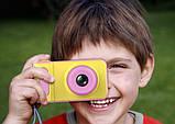 Дитячий фотоапарат Summer Kids Camera V7 S цифрова дитяча фотокамера Yellow/Pink, фото 4