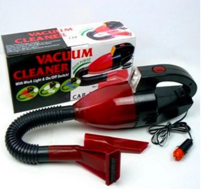 Пилосос для авто CAR VACUM CLEANER, Компактний автомобільний пилосос, Пилосос в машину, Автопилосос