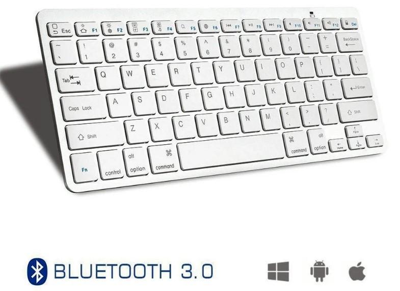 Бездротова Bluetooth клавіатура для ПК (Росіяни клавіші)