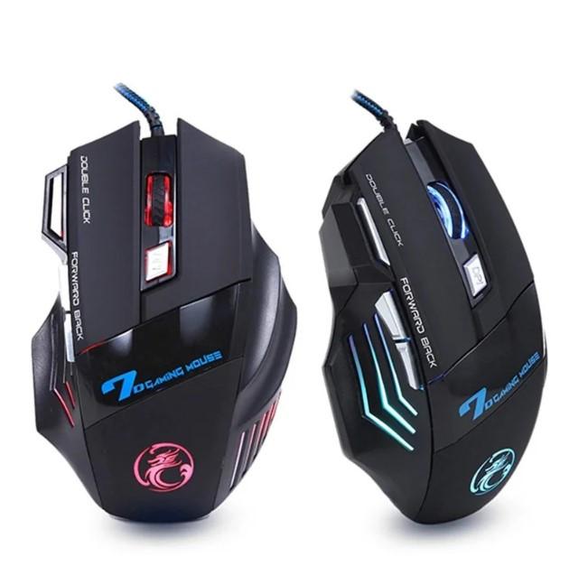 Ігрова мишка з підсвічуванням Imice X7 Black 3200 dpi