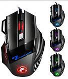 Ігрова мишка з підсвічуванням Imice X7 Black 3200 dpi, фото 2