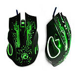 Геймерская оптическая мышь iMICE X9 с LED подсветкой 2400 dpi / Компьютерная игровая мышка, фото 3