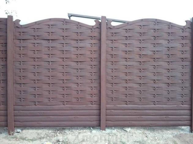 Вольногорск, еврозабор под ключ, заборы и ворота под ключ, забора под ключ, монтаж и установка заборов, фото 2