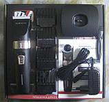 Машинка для стрижки акумуляторна Promotec PM-368 (керамічне лезо), фото 3