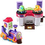 Развивающая игрушка VTech Go! Go! Cory Carson DJ Train Trax and The Roll Train Музыкальный Паровозик диджей, фото 3