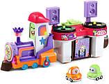 Развивающая игрушка VTech Go! Go! Cory Carson DJ Train Trax and The Roll Train Музыкальный Паровозик диджей, фото 2