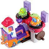 Развивающая игрушка VTech Go! Go! Cory Carson DJ Train Trax and The Roll Train Музыкальный Паровозик диджей, фото 4