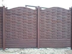 Вольногорск, еврозабор под ключ, заборы и ворота под ключ, забора под ключ, монтаж и установка заборов