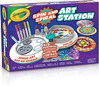 Спирограф для фломастеров и красок Crayola DIY spin & spiral art station Оригинал из США