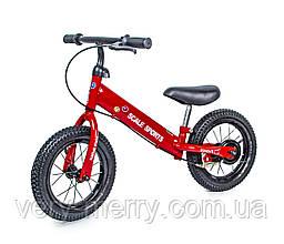 Велобіг від Scale Sports 12 Червоний колір
