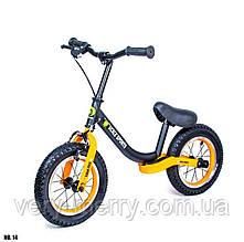 Велобег Star Scale Sports. Черно-оранжевый цвет.