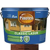 Pinotex Classic Lasur краска для наружных работ тиковое дерево 10л