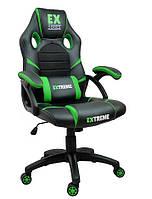 Крісло геймерське, ігрове Extreme EX GREEN Чорно-зелене