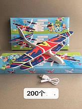 Літак AirCraft Кукурузник з USB зарядкою і моторчиком оптом