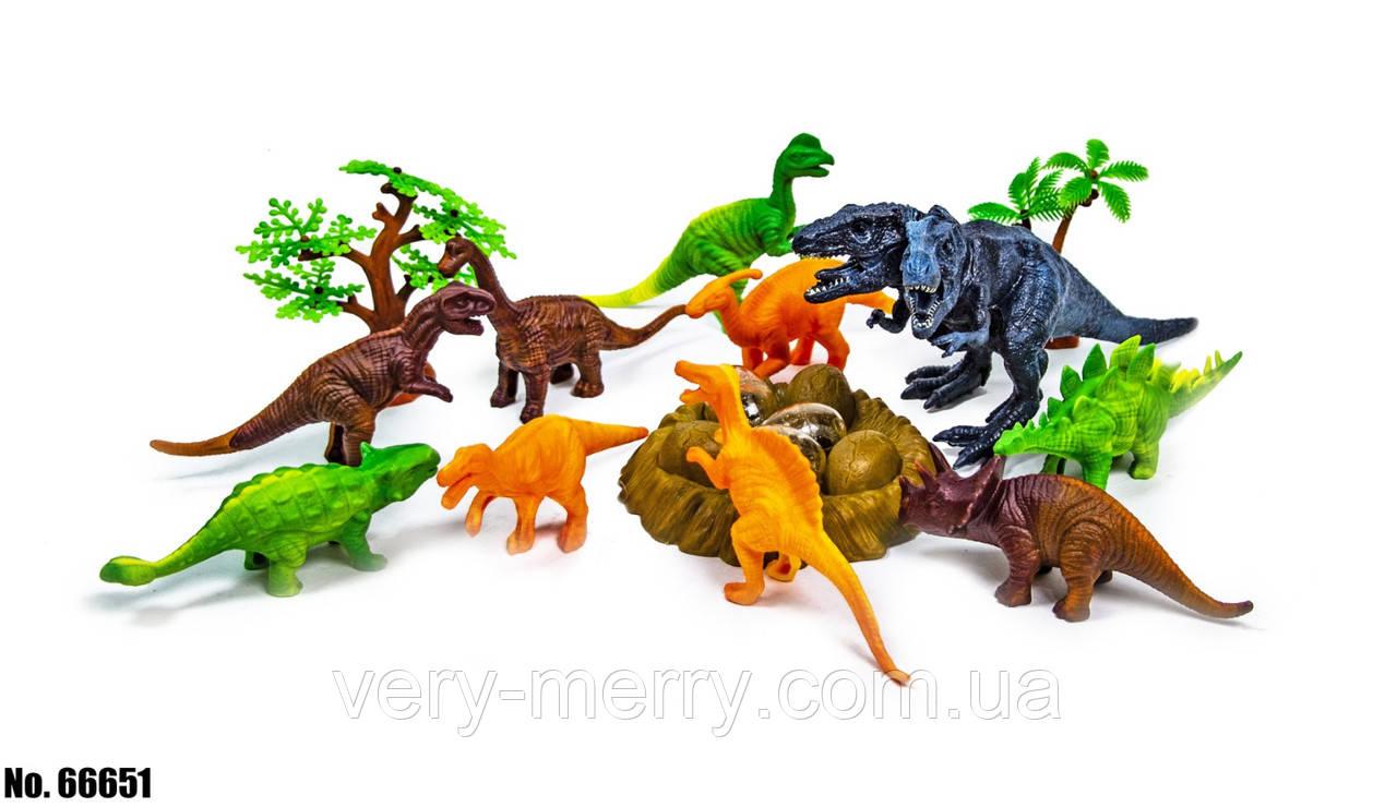 Ігровий набір Планета динозаврів 66651 оптом