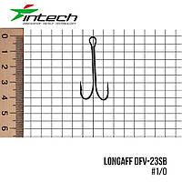 Гачок подвійний Intech Longaff DFV-23SB (#1/0 (5шт))
