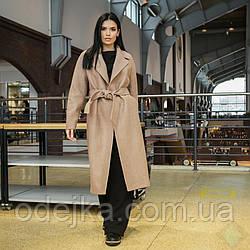 Пальто Мадрид кэмел