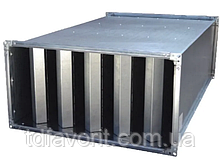 Прямоугольный шумоглушитель  SMN 40-20