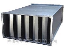 Прямоугольный шумоглушитель  SMN 50-25