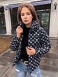 Женская куртка ЛВ черная, фото 3
