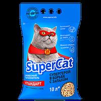 Наполнитель Супер Кет Стандарт без ароматизатора синий 3кг