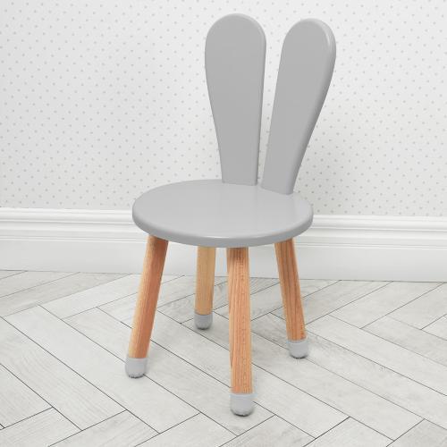 Детский стульчик 04-2GREY-ROUND серый