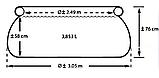 Басейн сімейний 28122 (1шт) 305-76см, 3853л,фільтр-насос (220-240V), ремкомпл,в кор-ке,38-38-30,5 см, фото 2
