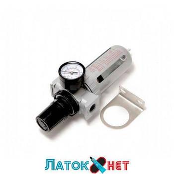 Фильтр влагоотделитель c индикатором давления для пневмосистемы 1/2 RF-AFR804 Rock Force