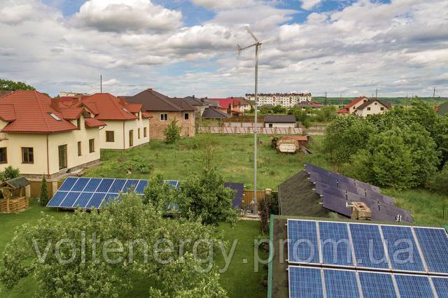 Сонячно-вітрова електростанція 50 кВт