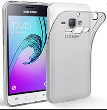 Чехол  Samsung galaxy j1 2015 j100 прозрачный