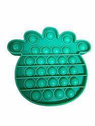 Pop It сенсорна іграшка, пупырка, поп іт антистрес, pop it fidget, попит, бірюзовий, ананас
