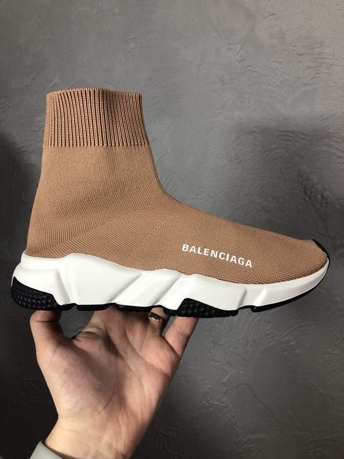 Жіночі кросівки Balenciaga Speed Trainer Beige