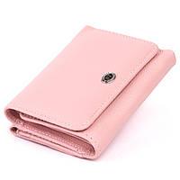 Компактный кошелек женский ST Leather 19255 Розовый, фото 1