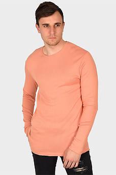 Батник мужской персиковый AAA 129424M