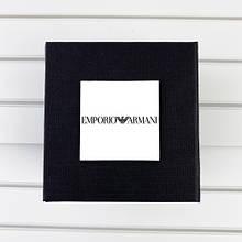 Коробочка з логотипом Emporio Armani Black