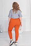 Женские штаны батал, джинс - бенгалин, р-р 48-50; 52-54; 56-58 (морковь), фото 2