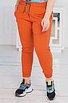 Женские штаны батал, джинс - бенгалин, р-р 48-50; 52-54; 56-58 (морковь), фото 3